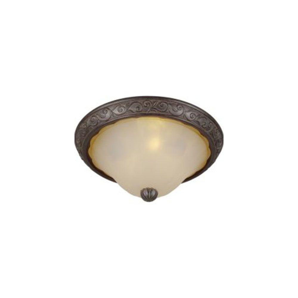 Burton 1-Light Antique Bronze Incandescent Mini Pendant
