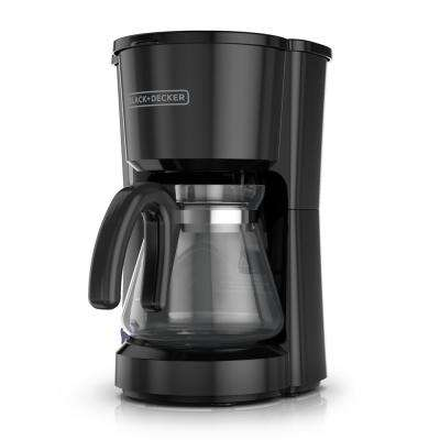 5-Cup Switch Coffee Maker in Black