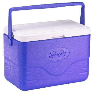 28 Qt. Cooler with Bail Handle Blue