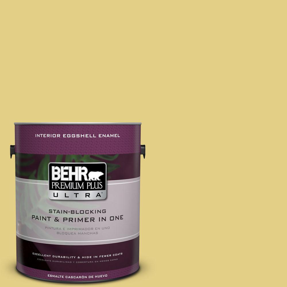 BEHR Premium Plus Ultra 1-gal. #P330-4 Starfruit Eggshell Enamel Interior Paint
