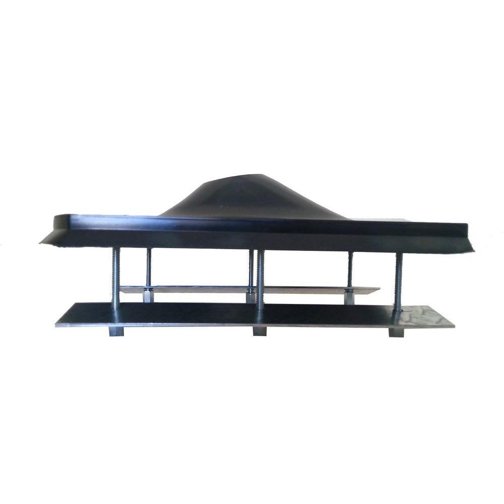 Steel Roof Flashing In Black