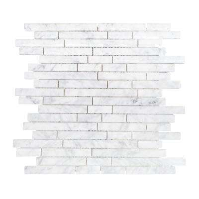 Stargazer 11-3/4 in. x 11-7/8 in. Marble Mosaic Tile