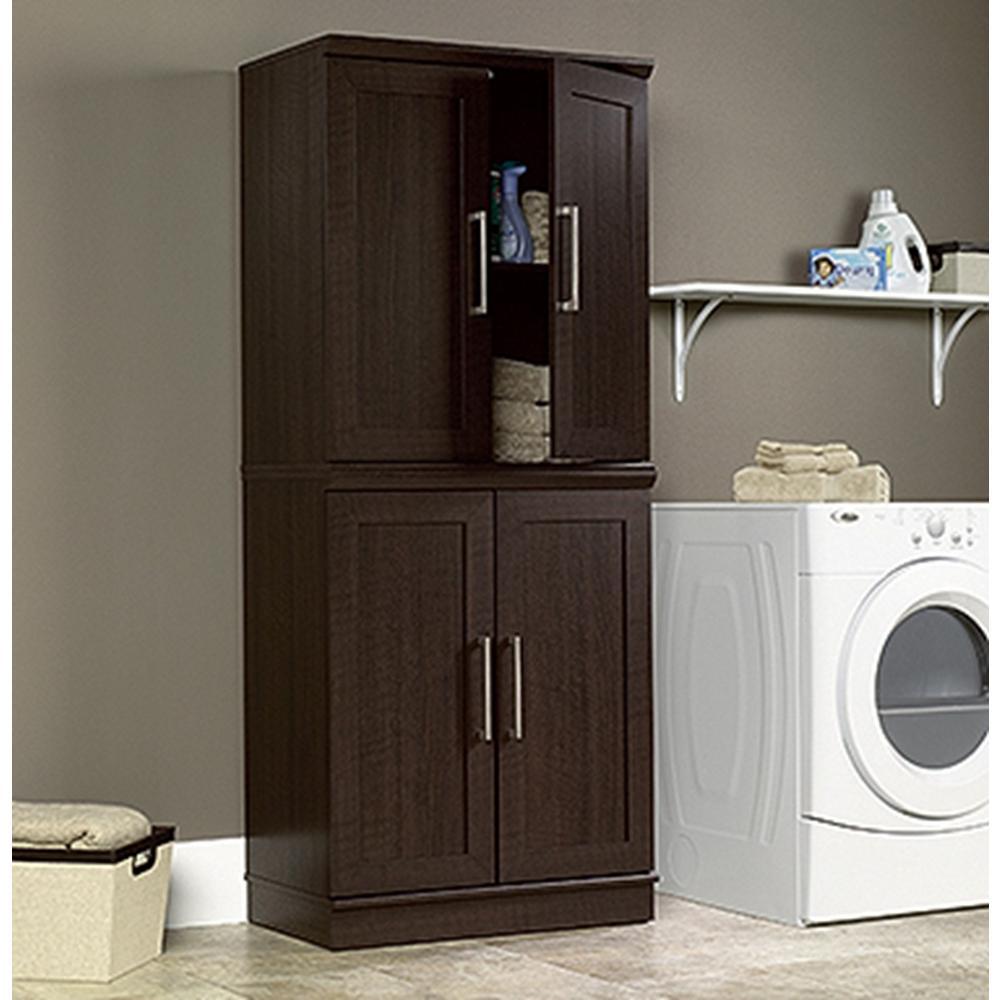 SAUDER Home Plus Dakota Oak Storage Cabinet-411591 - The Home Depot