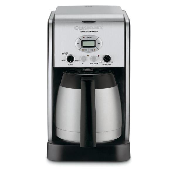 10-Cup Extreme Brew Programmable Stainless Steel Drip Coffee Maker