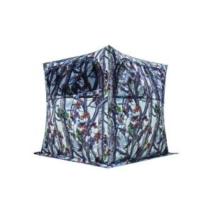 Barronett Blinds Grounder 250 Ground Blind in Blood Trail Snow Camo by Barronett Blinds