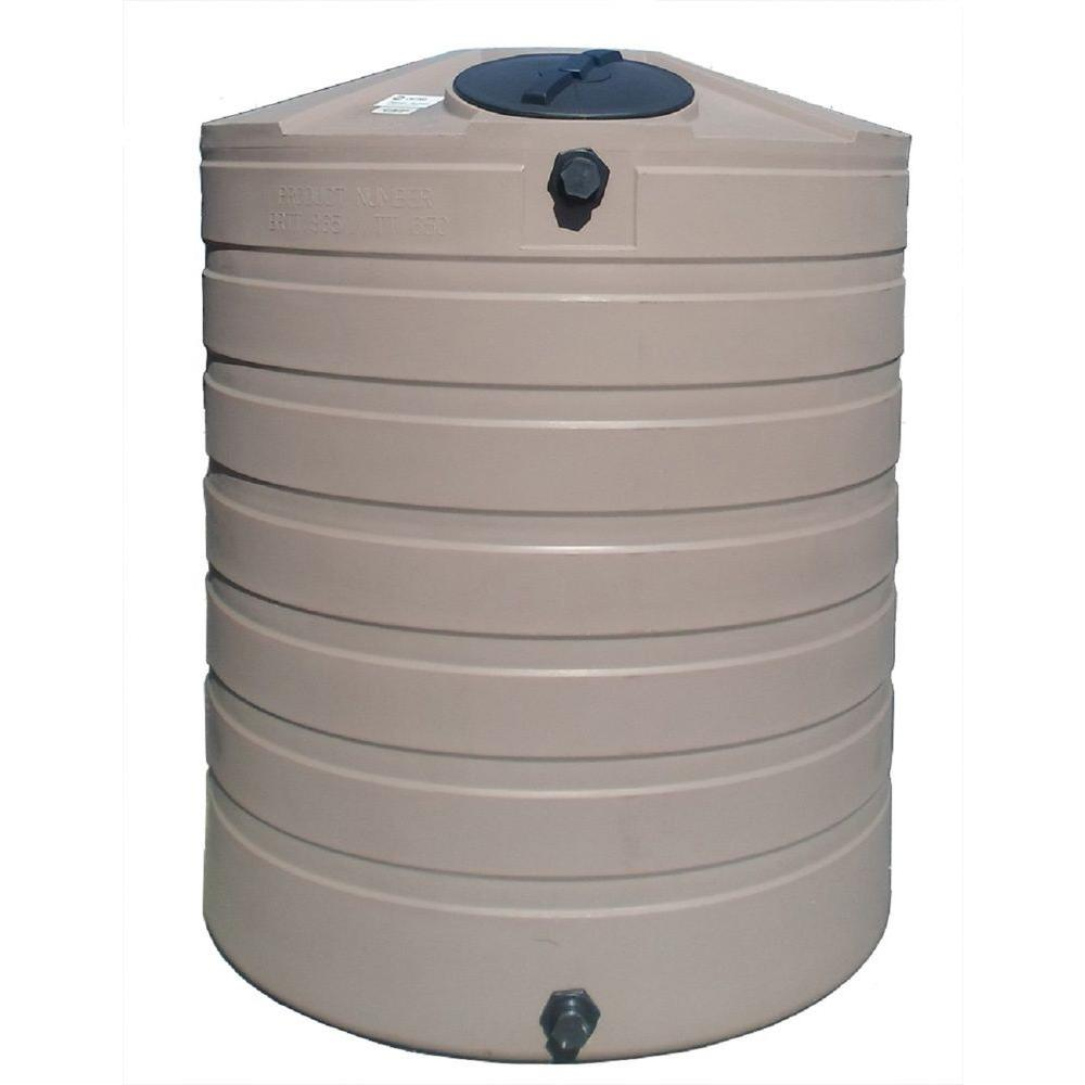 865 gal. Polyethylene Water Storage Tank