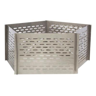Portable Interlocking Stainless Steel Fire Pit Screen