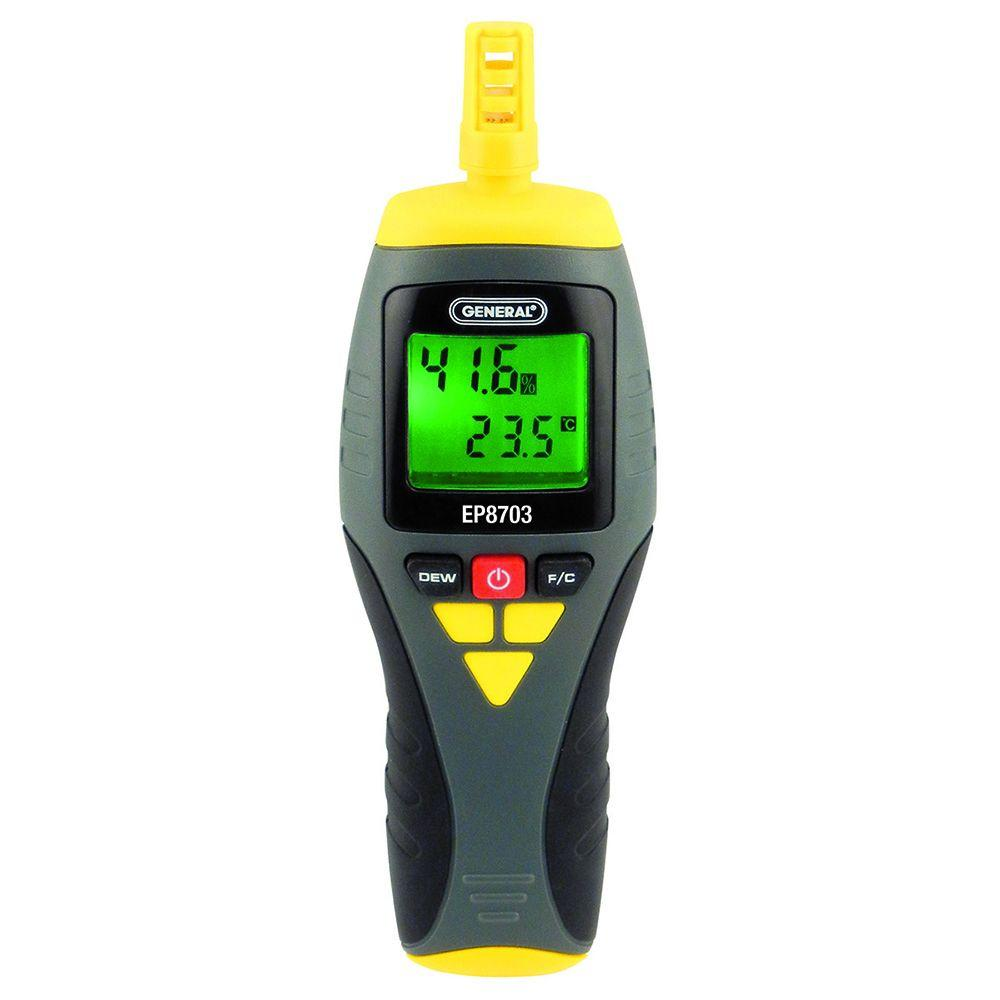 Field Calibratable Digital Thermo-Hygrometer with Dew Point