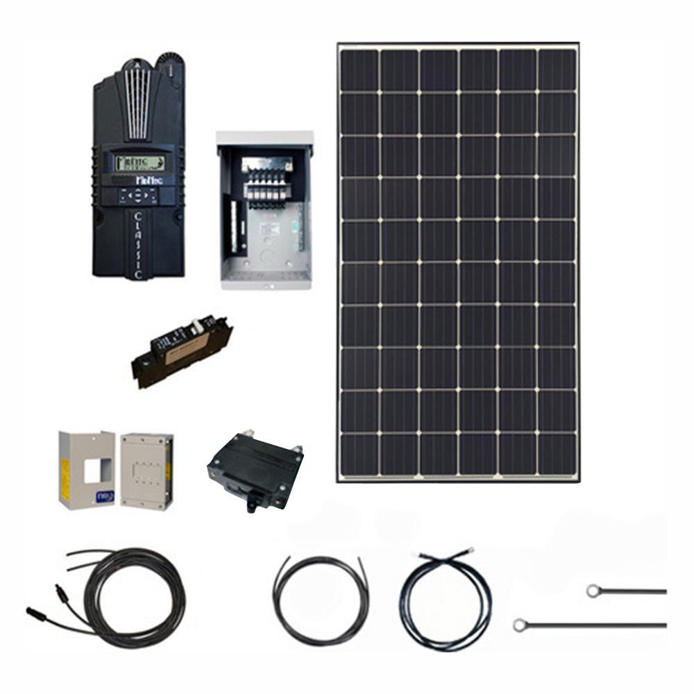 G Solar 1,080-Watt Off-Grid Solar Generator Kit-GS-1080-KIT-PH ... on