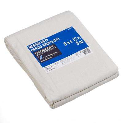 8 ft. 9 in. x 11 ft 9 in. 8 oz. Canvas Drop Cloth