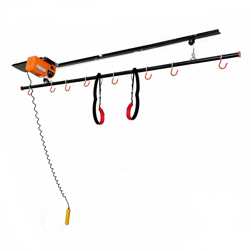 220 lbs. Motorized Garage Ceiling Storage Lift for Canoes and Kayaks