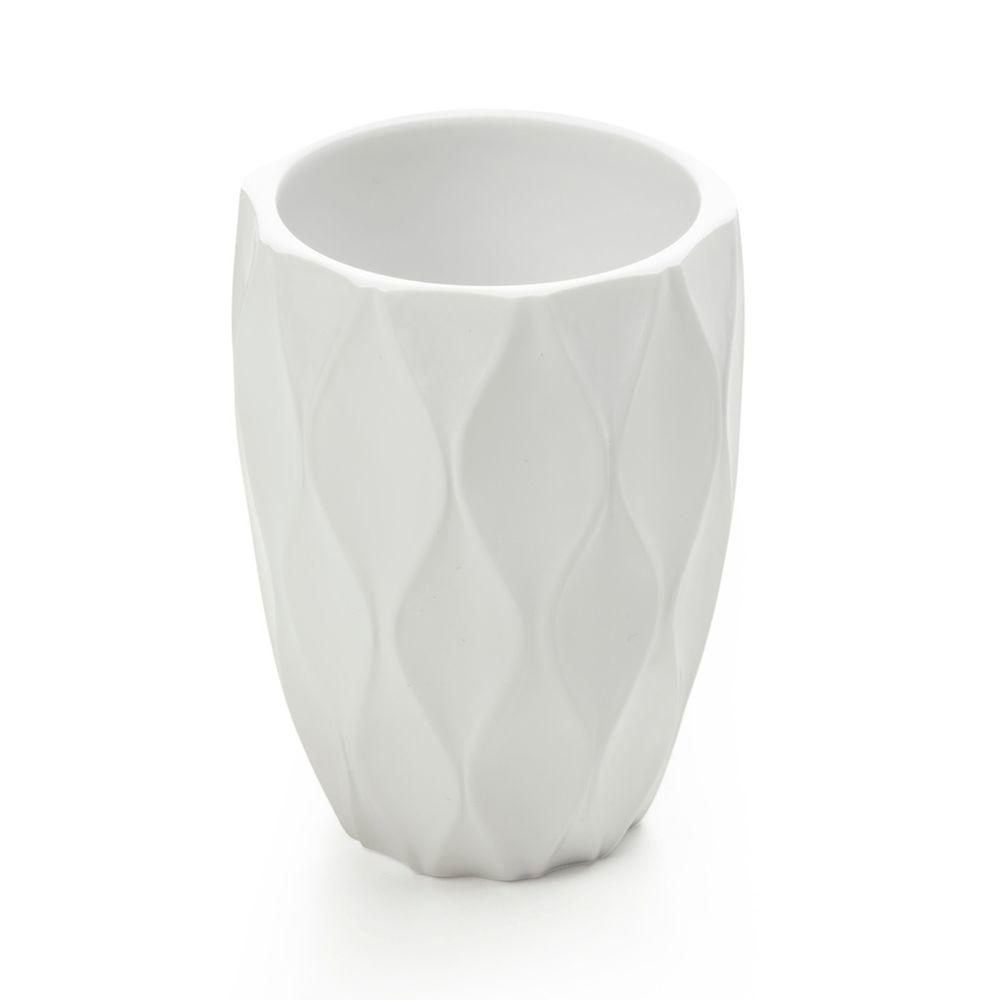 Filament Design Wave Bath 4.3 in. Tumbler in White