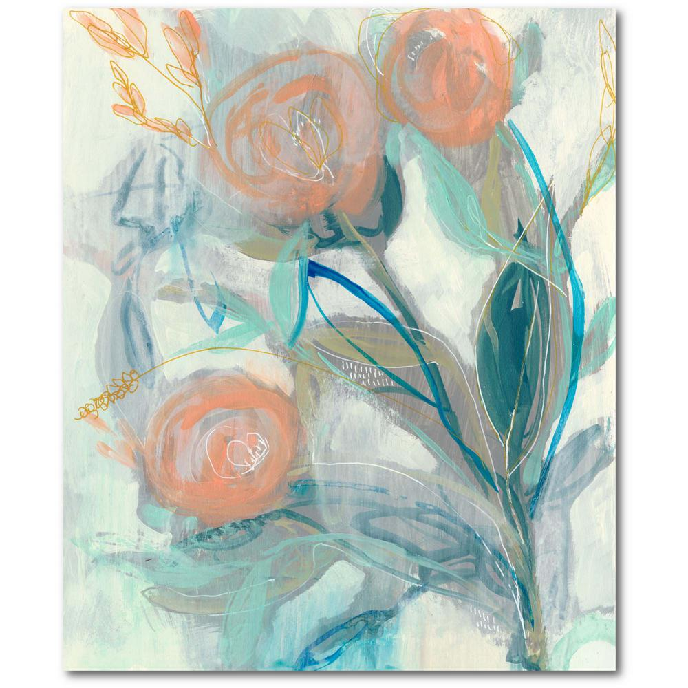 Courtside Market Flower Grouping I Gallery-Wrapped Canvas Nature Wall Art 20 in. x 16 in., Multi Color was $70.0 now $38.93 (44.0% off)