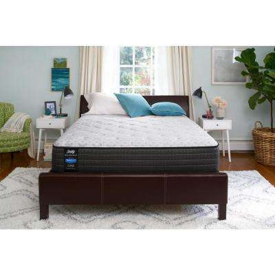 Response Performance 12 in. California King Cushion Firm Tight Top Mattress Set with 5 in. Low Profile Foundation