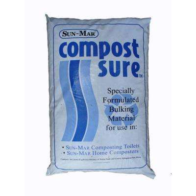 Waterless Toilet Compost Starter and Compost Sure - Blue