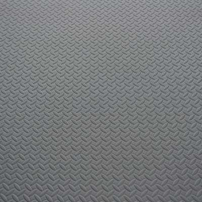 46 in. x 93 in. x 7mm EVA Multi-Use Mat with Diamond Plate Pattern