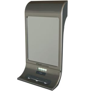 Zadro Fogless Water Shaving Mirror in Stainless Steel by Zadro
