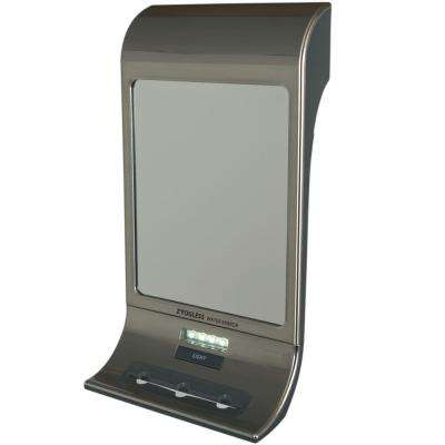 Fogless Water Shaving Mirror in Stainless Steel