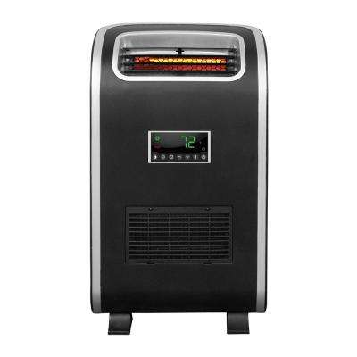 Slim Line 1500-Watt Infrared Portable Heater with 6-Elements and Programmable Timer