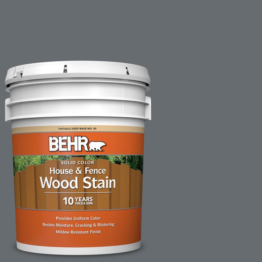 Dark Ash Exterior Wood Stains