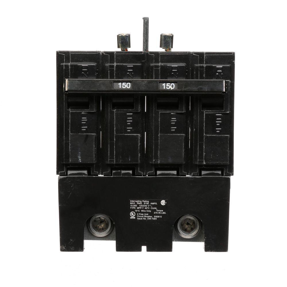 150 Amp Double-Pole 10kA Type MPP Main Breaker