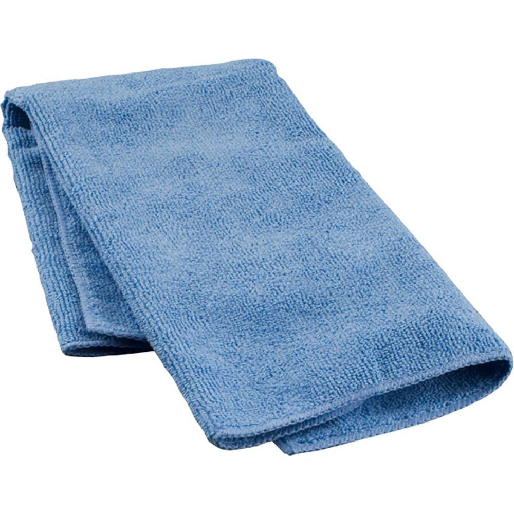 Microfiber 14 in. x 14 in. Towels (Pack of 24)