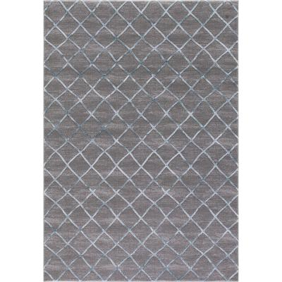 Thema Teo Teal 7 ft. x 9 ft. Area Rug