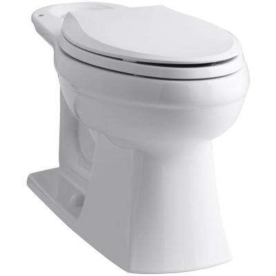 Kelston Elongated Toilet Bowl Only in White
