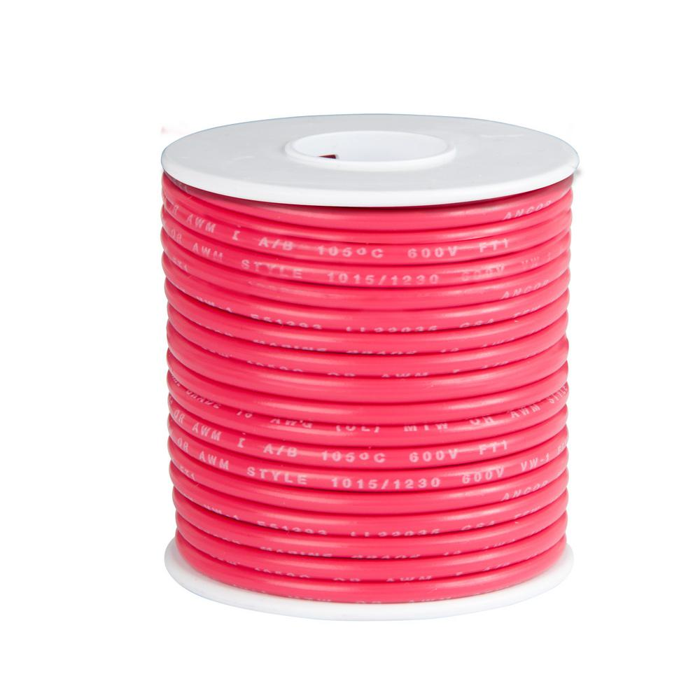 18 Awg Wire Spools Center Com Circuitdiagram Amplifiercircuit Constitutedbytheina128ac Gardner Bender 35 Ft Primary Spool Red Amw 328 The Rh Homedepot Speaker