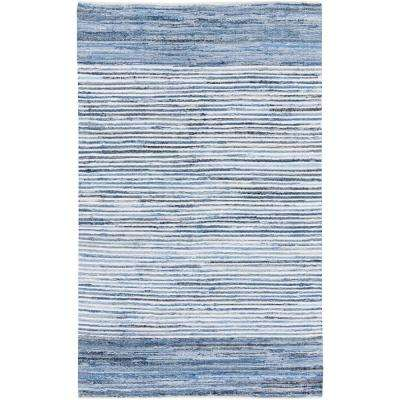 Thorburn Bright Blue 8 ft. x 11 ft. Indoor Area Rug