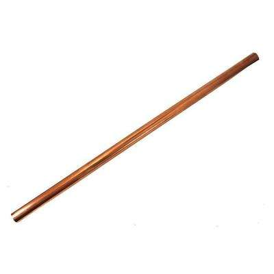 3/4 in. x 2 ft. Copper Type M Hard Straight Pipe