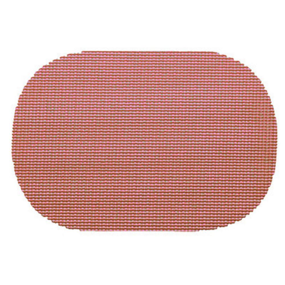 Kraftware Orchid Fishnet Oval Placemat (Set of 12)