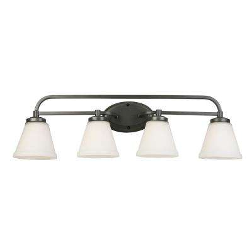Mayview 4-Light Graphite Bath Light