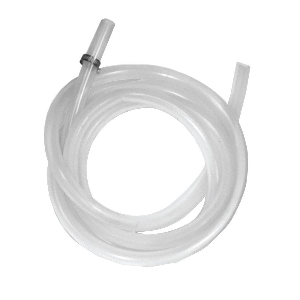 6 ft. Plastic Silicone Condensate Drain Tube for Rheem Mid Efficiency