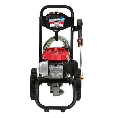 SIMPSON MegaShot MS60809-S 3000 PSI at 2.4 GPM HONDA GCV160 Cold Water Pressure Washer