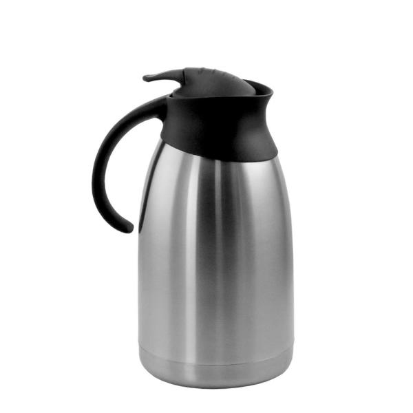 67.6 fl. oz. Stainless Steel Thermal Carafe with Black LID