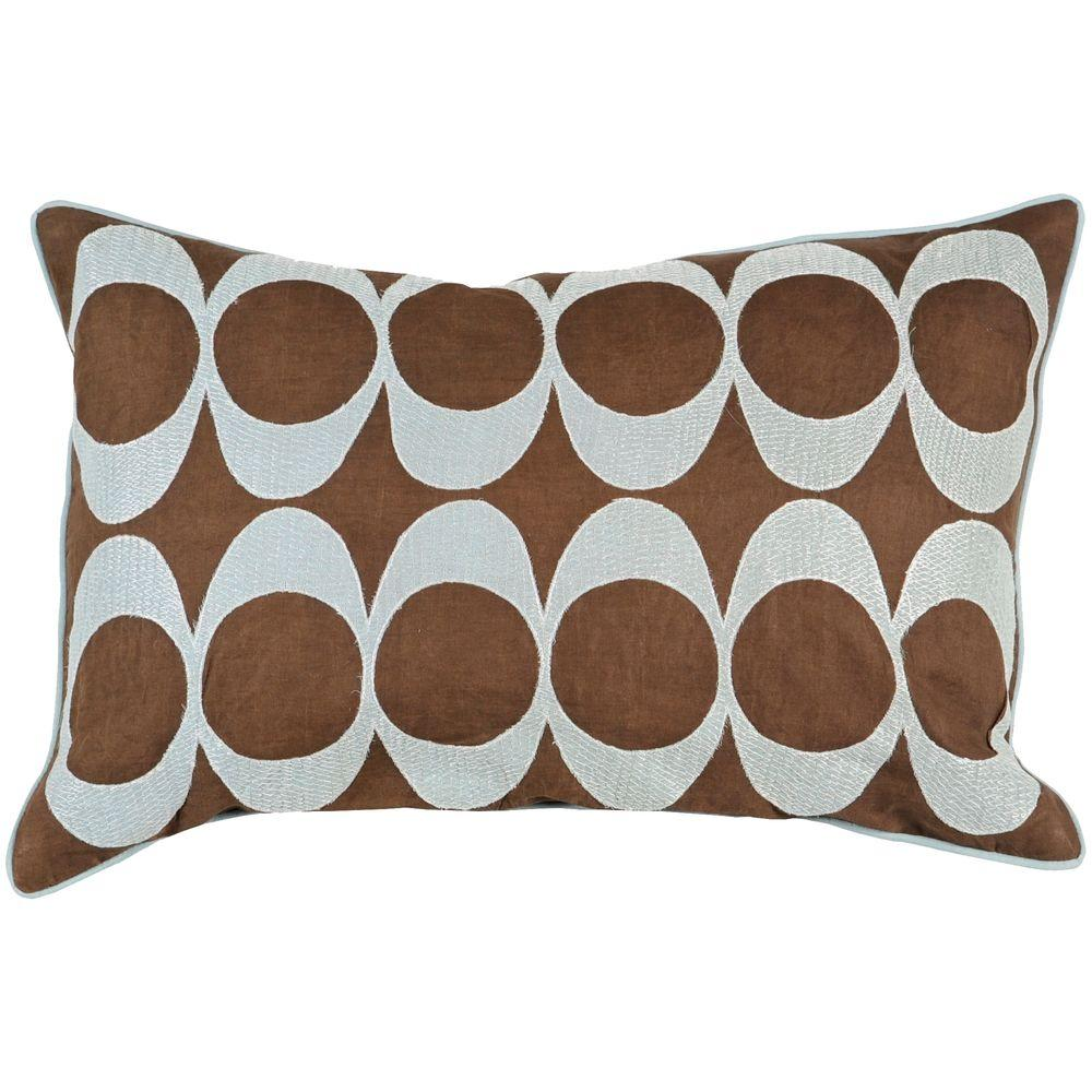 Artistic Weavers CirclesD 13 in. x 20 in. Decorative Down Pillow