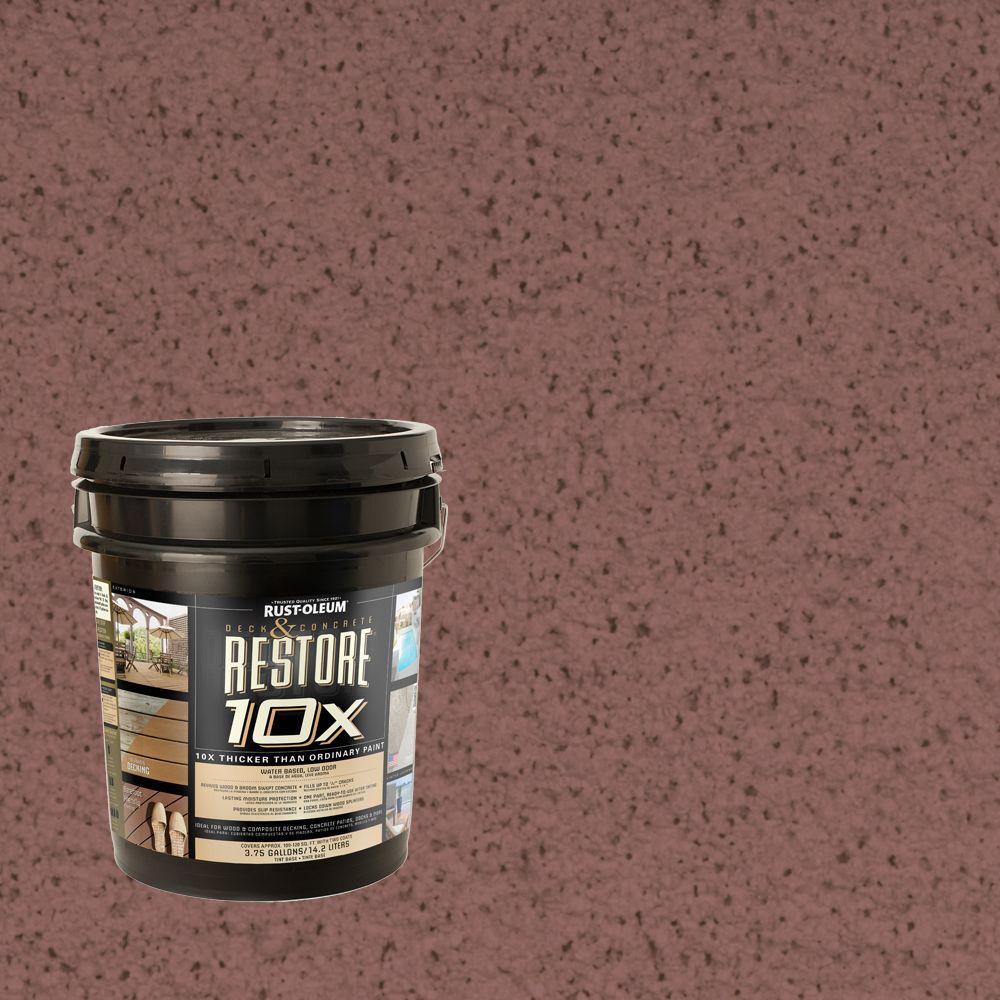 Rust-Oleum Restore 4-gal. Sante Fe Deck and Concrete 10X Resurfacer