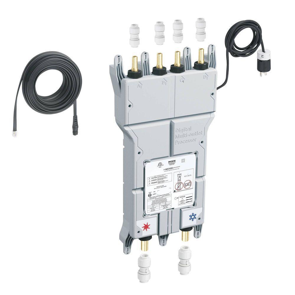ioDIGITAL 3/4 in. Cpvc Inlet Push-Fit Connectors Outlet Push-Fit Pex Cc Connection