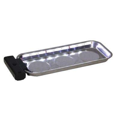 6 in. x 14 in. LED Magnetic Grip Parts Tray