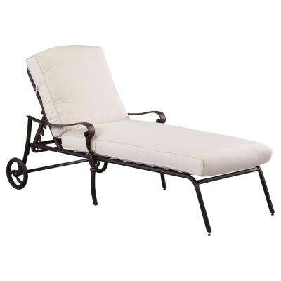 Fantastic Edington Cast Aluminum Outdoor Chaise Lounges Patio Squirreltailoven Fun Painted Chair Ideas Images Squirreltailovenorg
