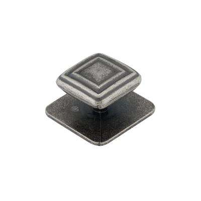 (45 Mm) Western Pewter Square Cabinet