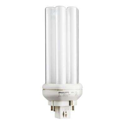 26-Watt Gx24q-3 PL-T CFL Quad Amalgam Tube 4-Pin Light Bulb Bright White