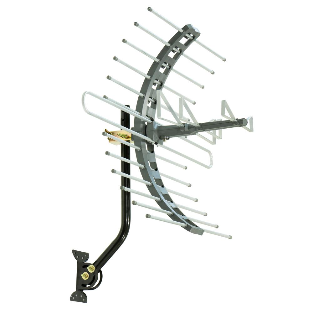Ge Pro Outdoor Attic Mount Tv Antenna 70 Mile Range 29884