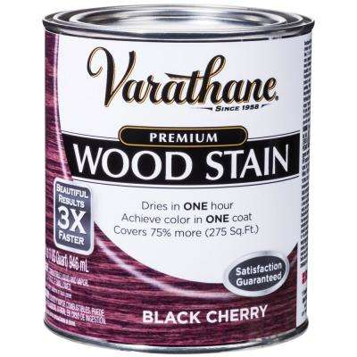 1 qt. Black Cherry Premium Fast Dry Interior Wood Stain (2-Pack)