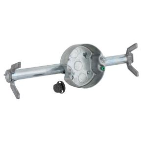 Raco Retro Brace With 4 In Round Ceiling Rated Pan 1 2 Deep Ko S 936 The Home Depot
