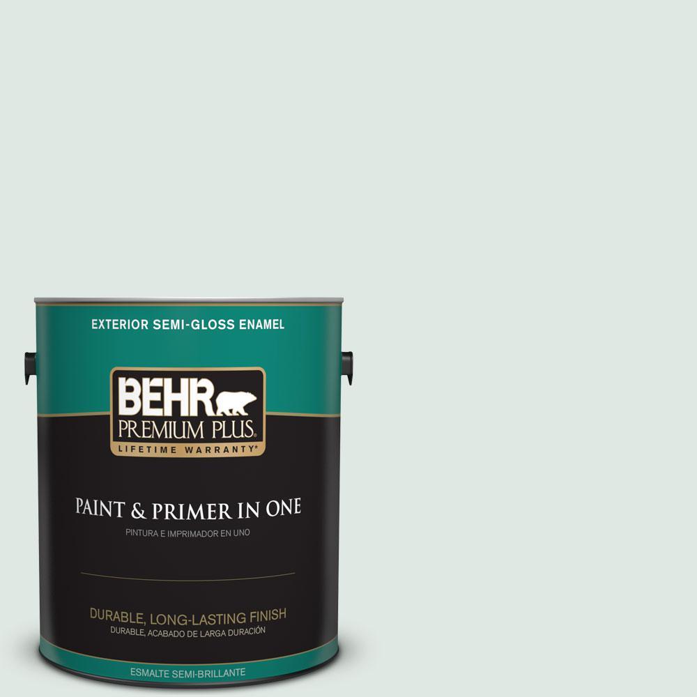 1-gal. #470E-2 Water Mark Semi-Gloss Enamel Exterior Paint