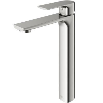 Norfolk Single Hole Single-Handle Vessel Bathroom Faucet in Brushed Nickel