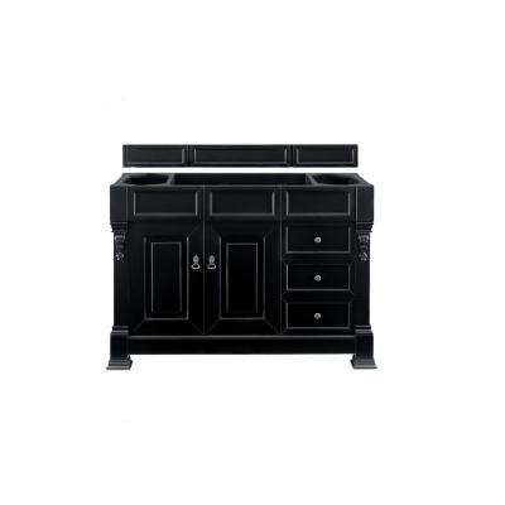 Brookfield 48 in. W Bathroom Single Vanity Cabinet Only in Antique Black
