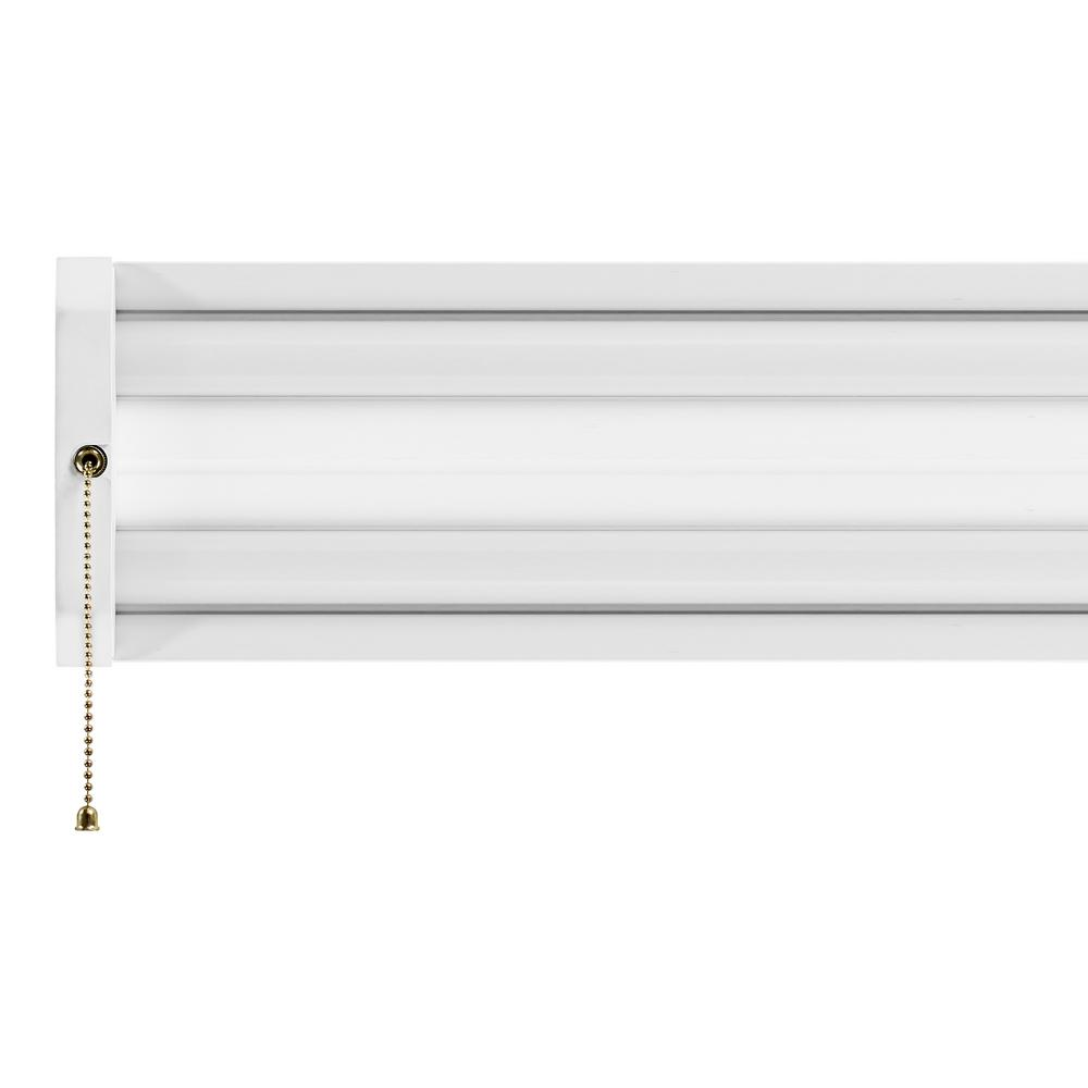 70-Watt 4 ft. White Integrated LED Linkable Shop Light Fixture